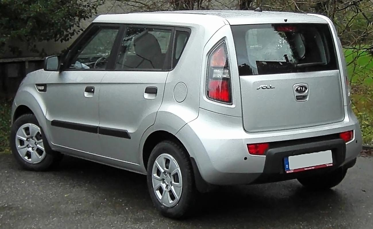 2011 Kia Soul >> File:Kia Soul rear 20091209.jpg - Wikimedia Commons