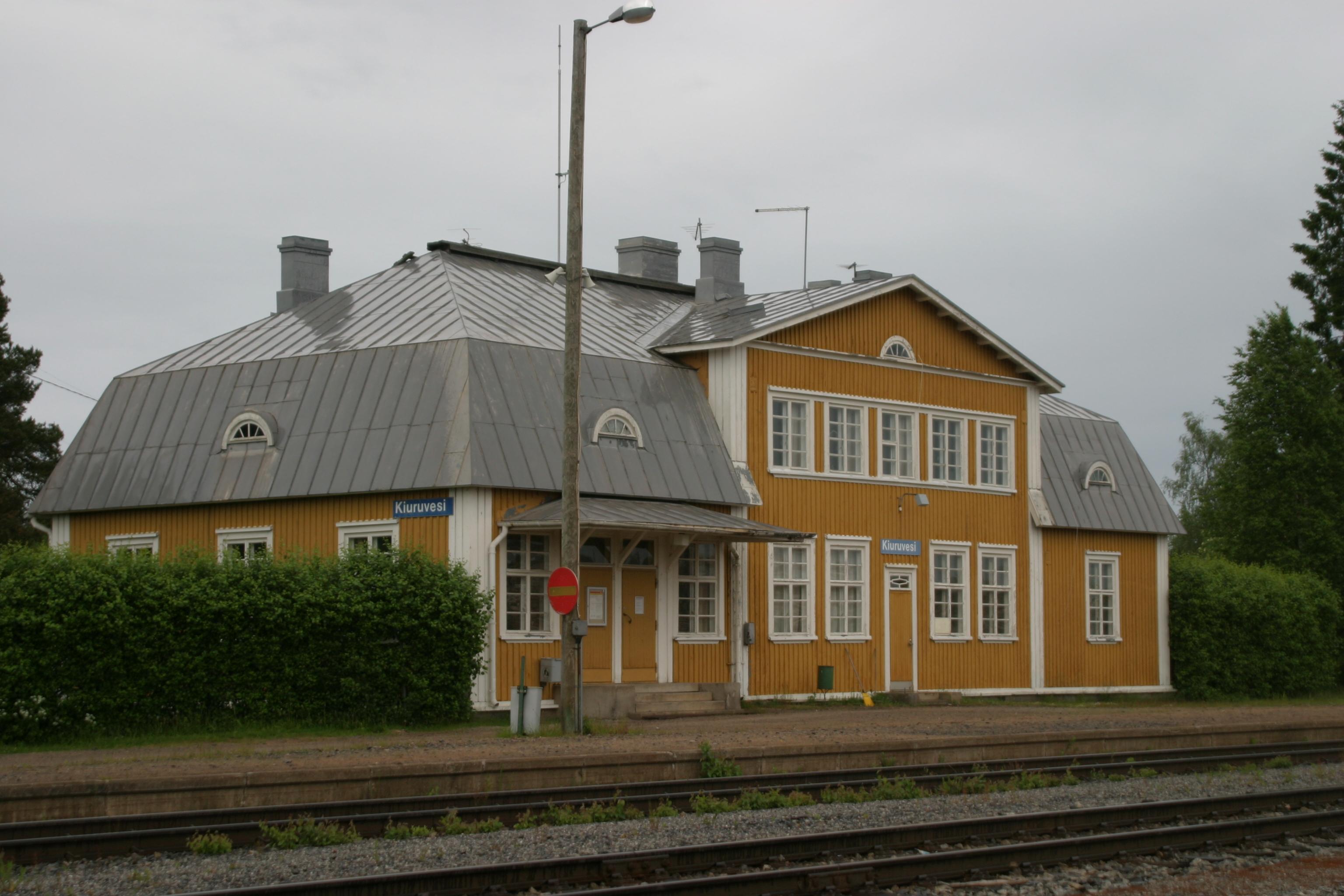 Ylivieska Rautatieasema