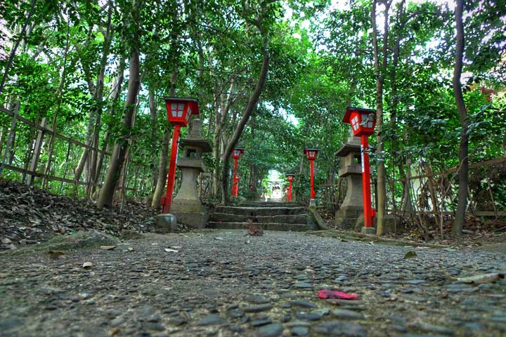 Koshikiiwa Shrine:越木岩神社 - panoramio