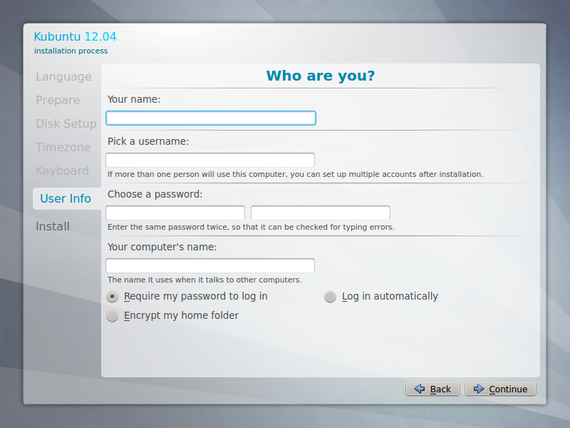 File:Kubuntu 12.04 setup, step 6 (User Info).png