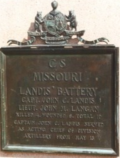 Landiss Missouri Battery Artillery battery of the Confederate States Army