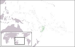Location of Tóngà