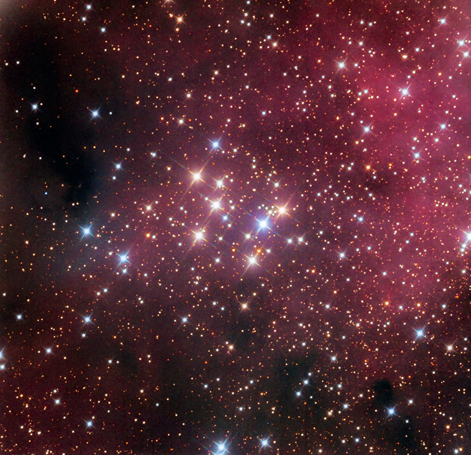 Messier 29 aufgenommen von dem 81-cm-Spiegelteleskop des Mount-Lemmon-Observatoriums