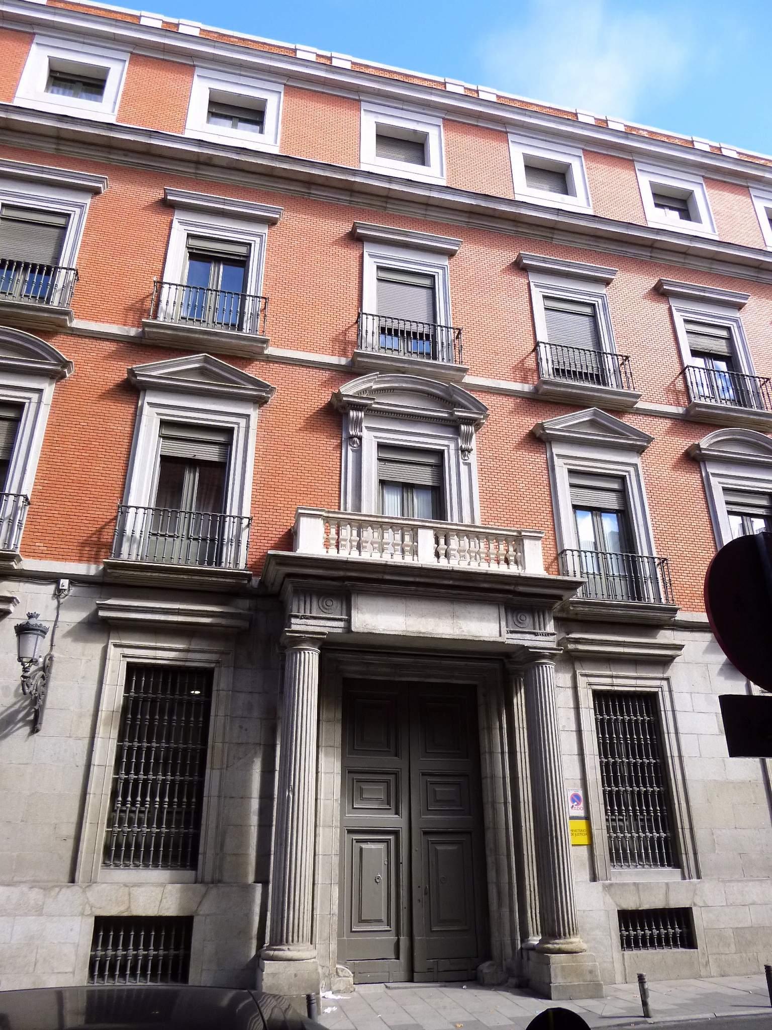 File madrid palacio de la marquesa de la sonora sede for Ministerio de seguridad espana