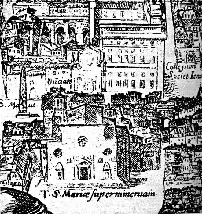 FileMap Of Rome By Antonio Tempesta Detailjpg Wikimedia Commons - Rome map cartoon