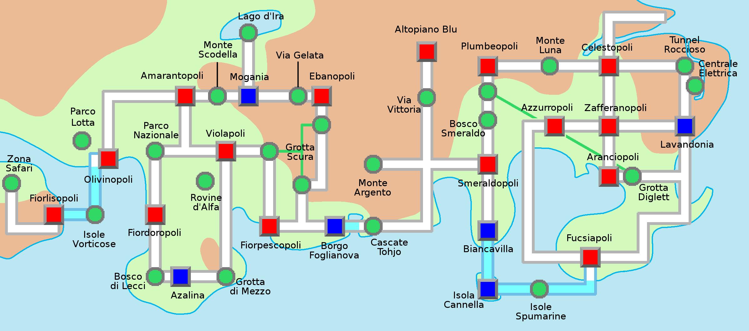 File Mappa Di Johto E Kanto Png Wikimedia Commons