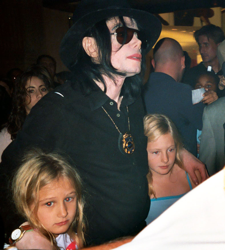 Michael Jackson with children