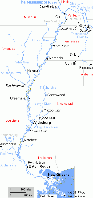 List Of Rivers Of Mississippi Wikiwand - List of major rivers