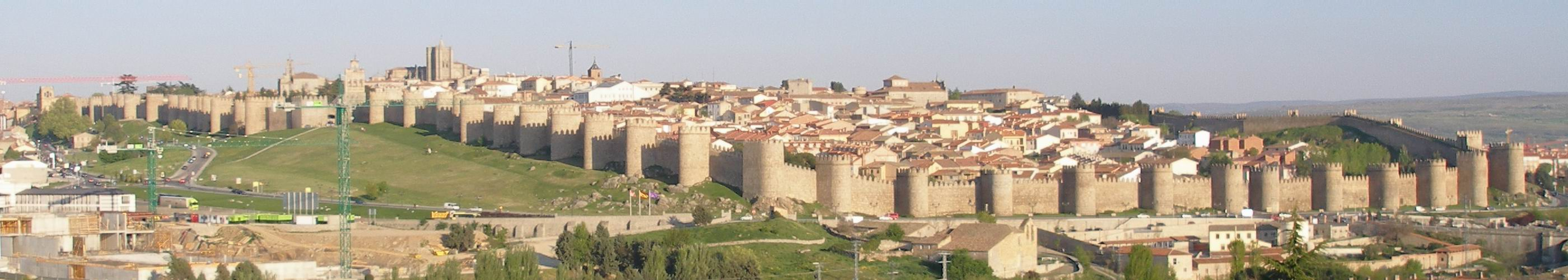 Ávila with its famous town walls