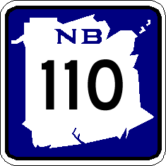 List of highways numbered 110