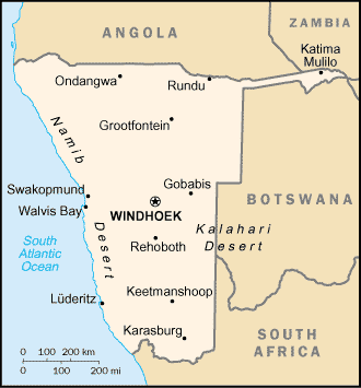 Namibia-CIA WFB Map (2004).png