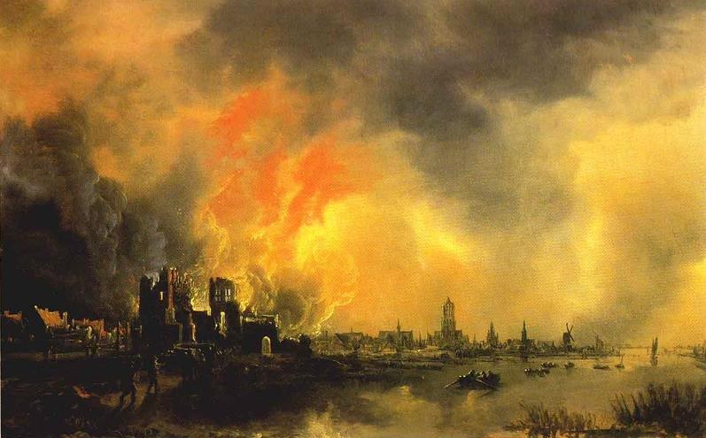 Thanks to Aert van der Neer [Public domain], via Wikimedia Commons