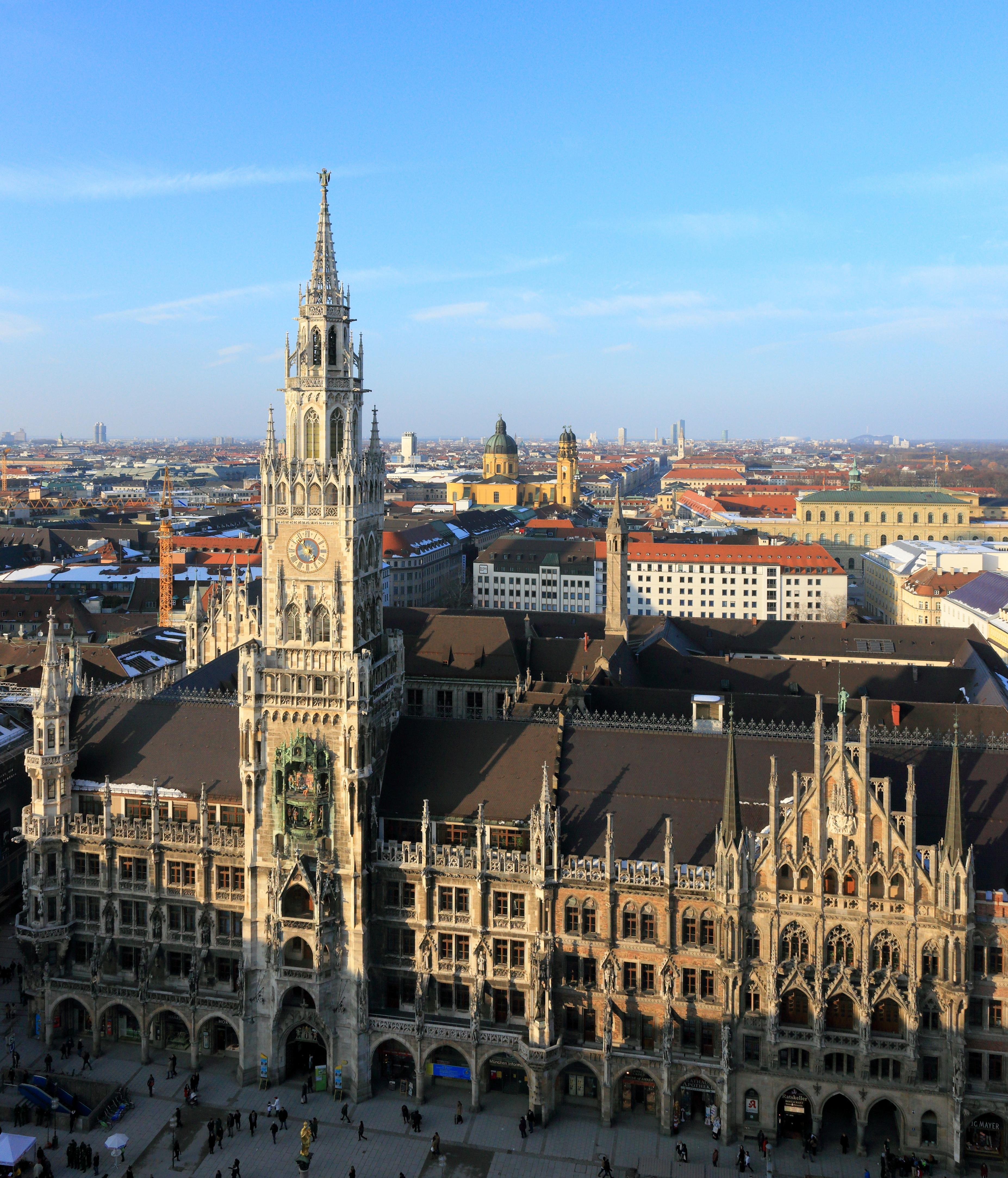 Monaco di Baviera municipio nuovo