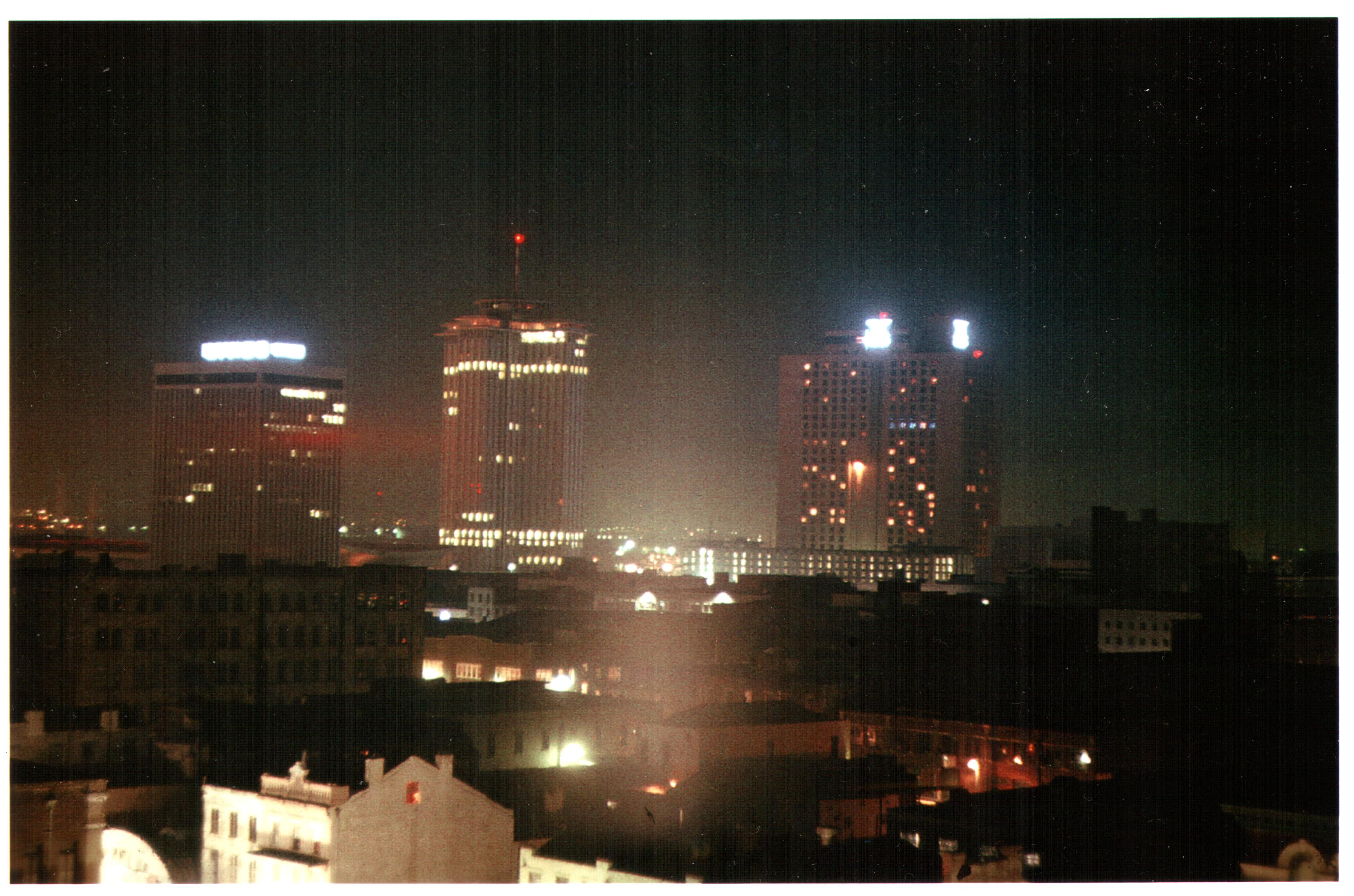 file new orleans 1977 night skyline lykes building world trade