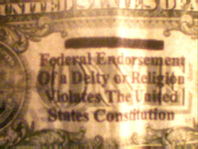 File:One dollar bill with In God We Trust marked out.jpg