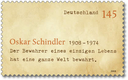 Datei:Oskar Schindler Briefmarke 2008.jpg