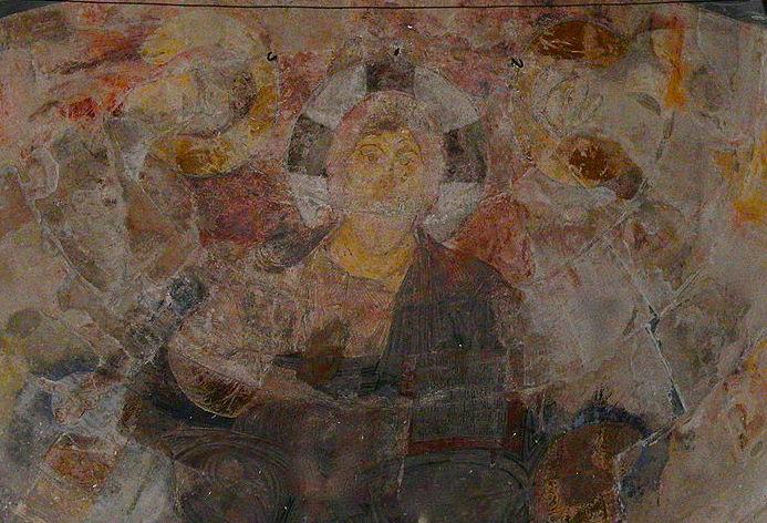 Интерьер храма представляет
