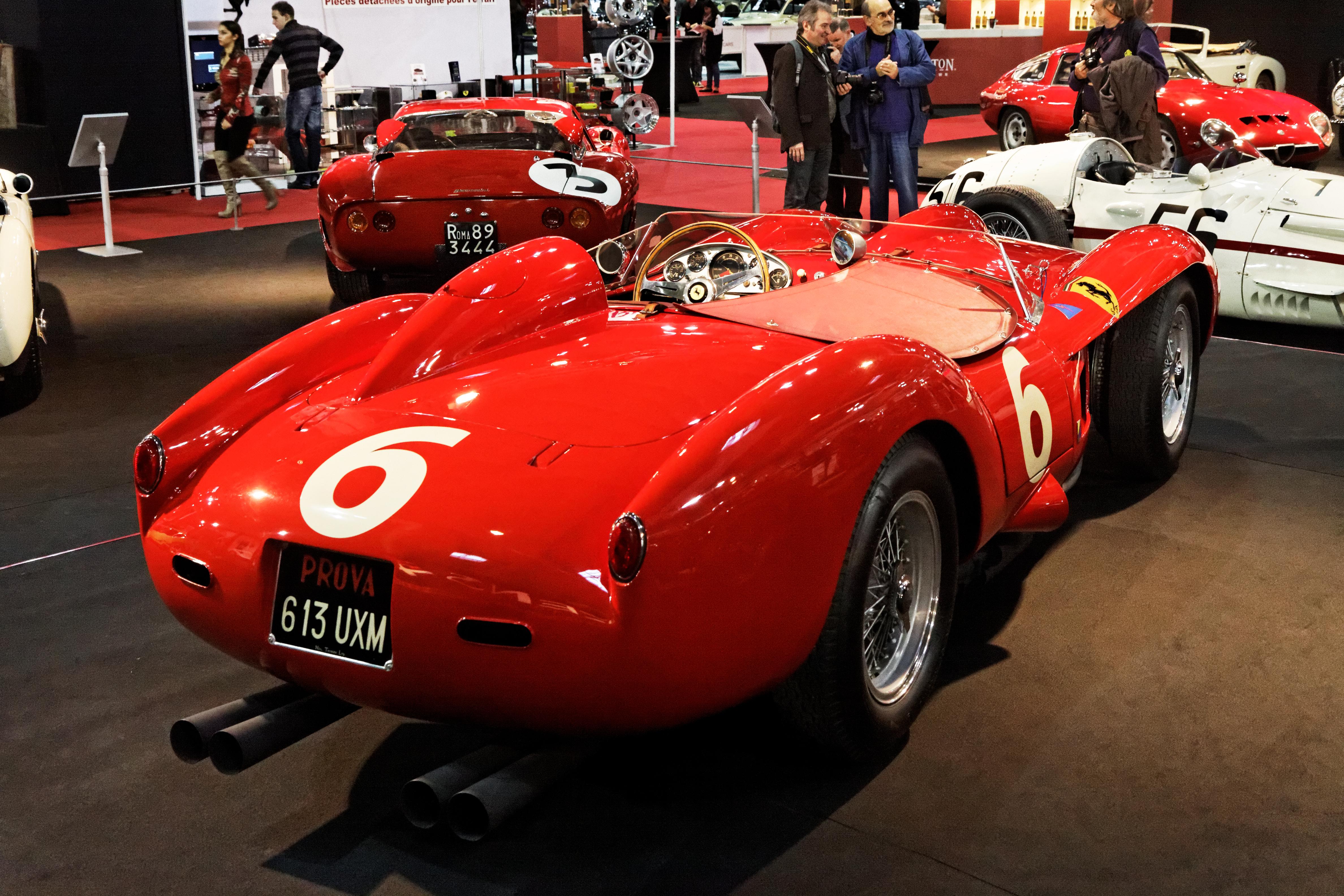 file:paris - retromobile 2013 - ferrari 250 testa rossa 250 - 1957