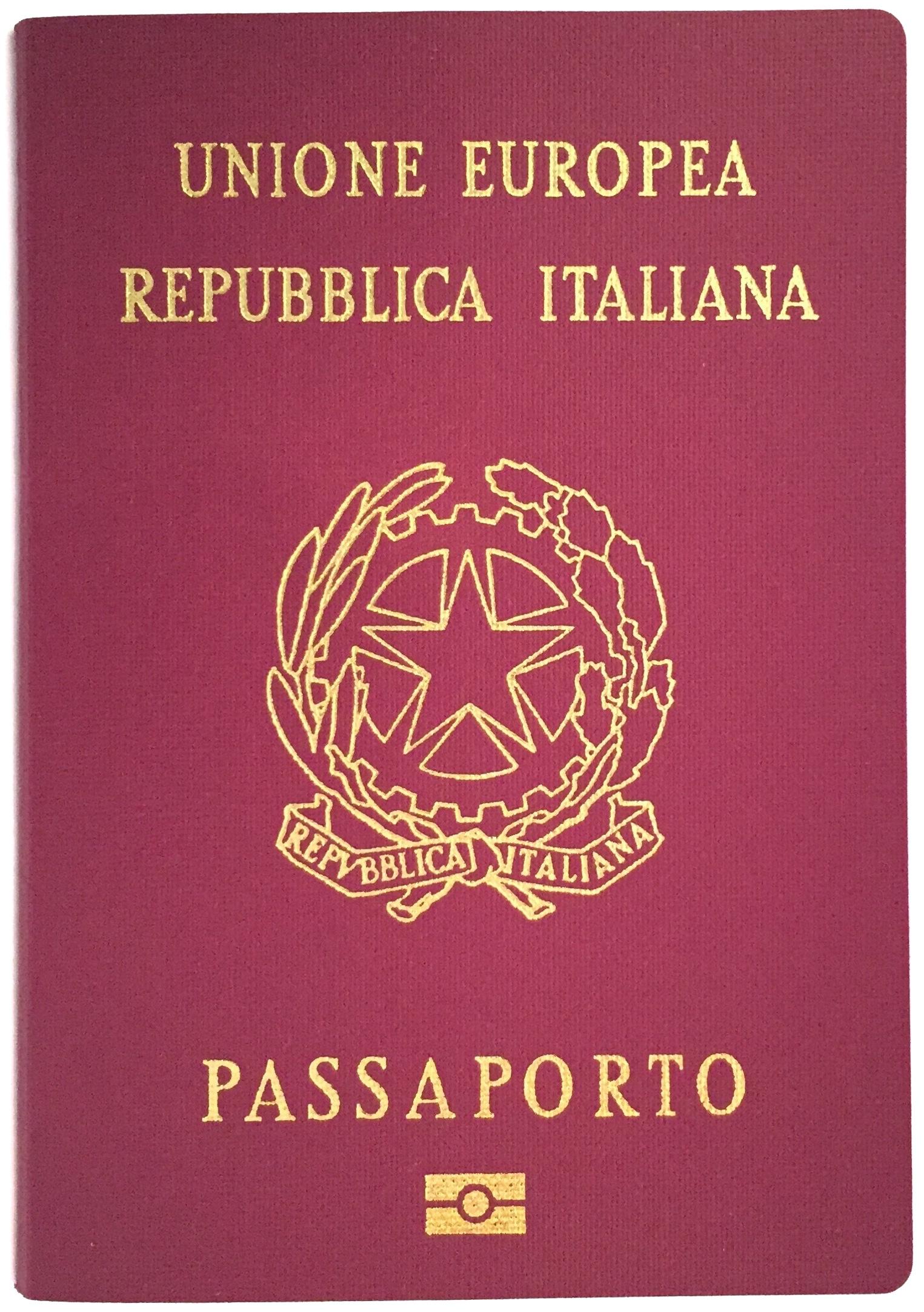 Passaporto italiano wikiwand for Cittadinanza italiana tempi di attesa 2018