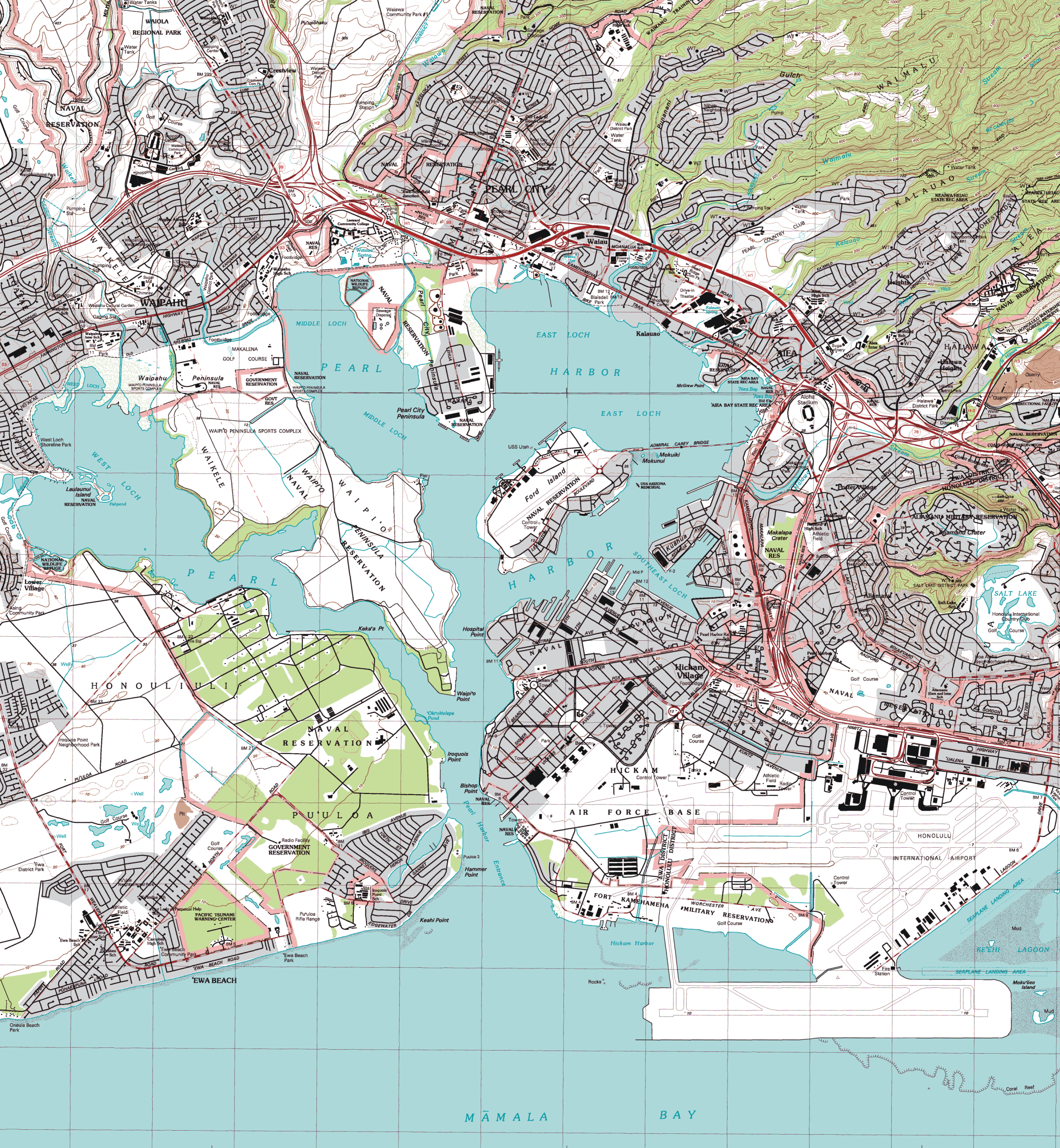 File:Pearl Harbor topographic map.png - Wikimedia Commons on
