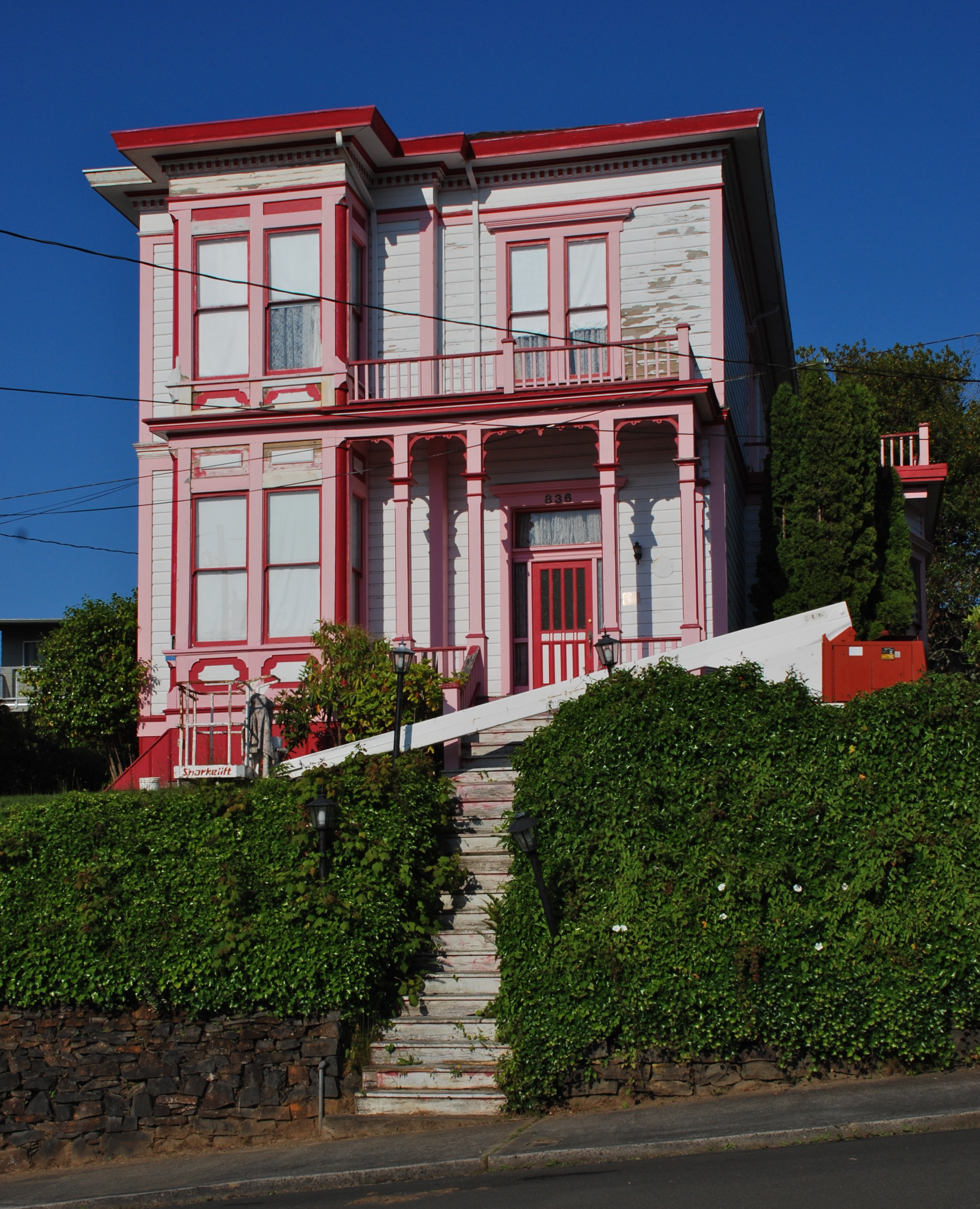 File peter l cherry house astoria for Building a home in oregon