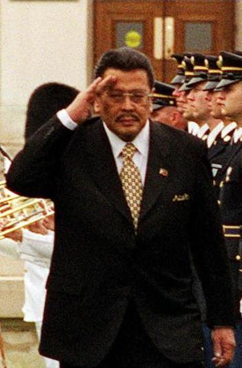 Joseph Estrada, presidente de Filipinas