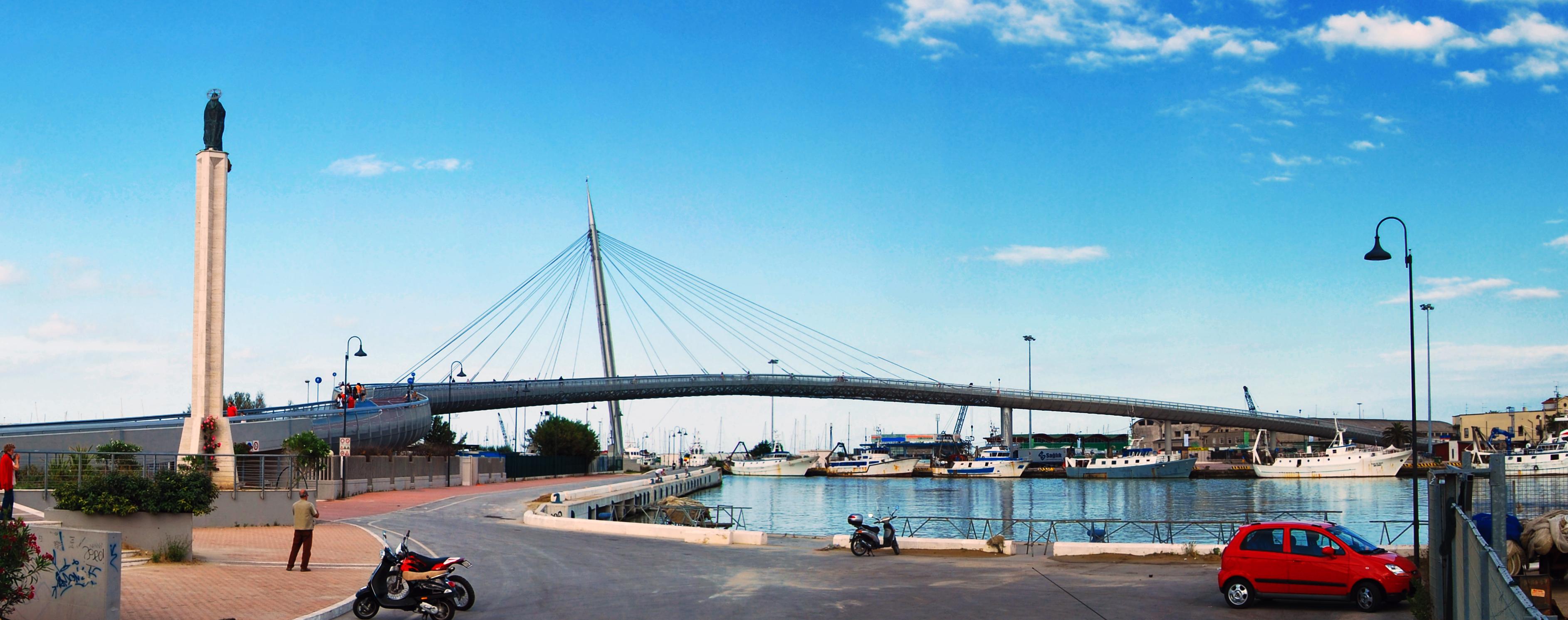Opiniones de pescara for Piani di fondazione del ponte