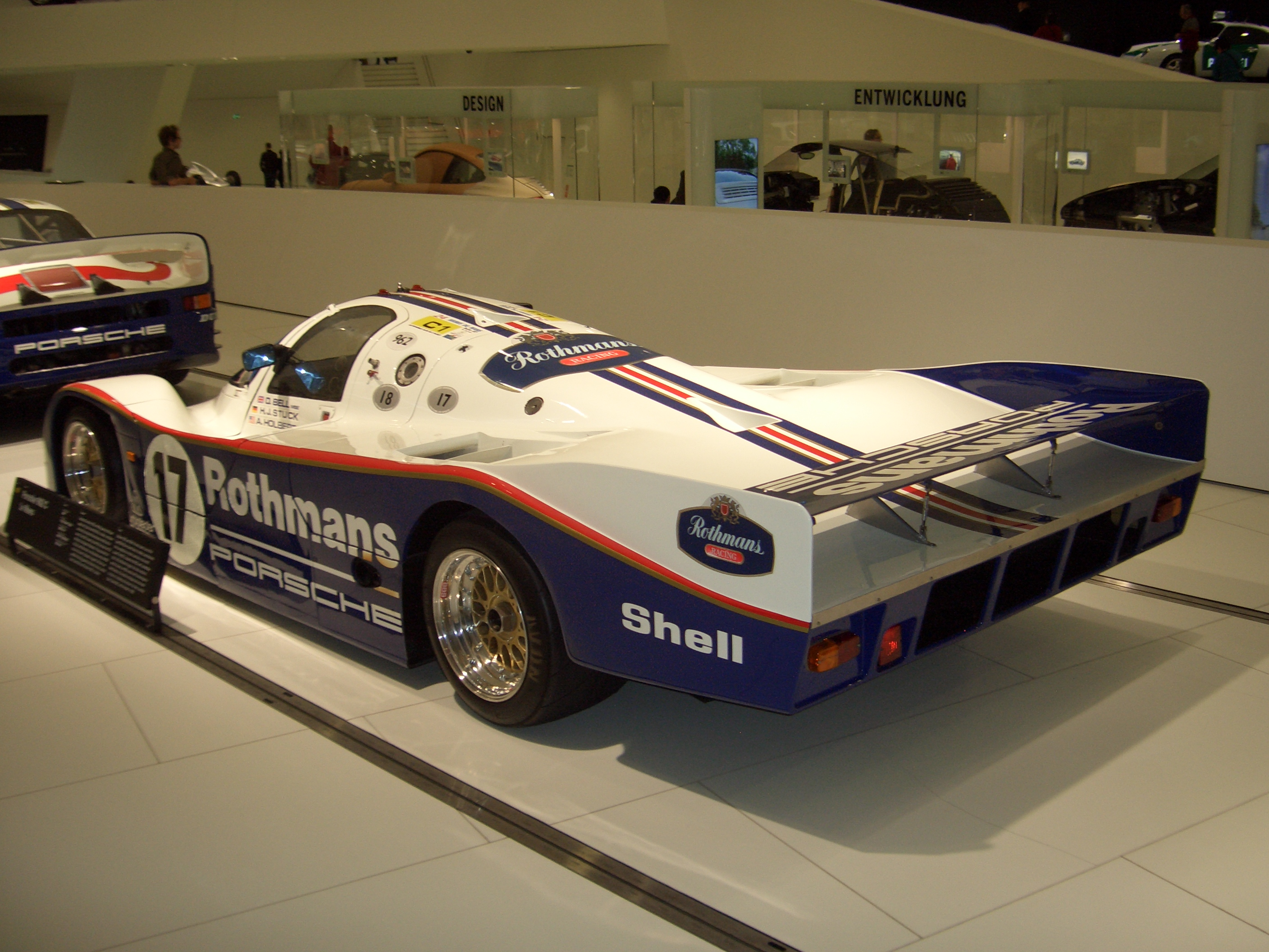 File Porsche 962c Le Mans 1985 Backleft 2009 03 14 A Jpg Wikimedia Commons
