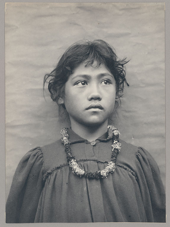 Portrait of Girl 1900, by Henry Wetherbee Henshaw