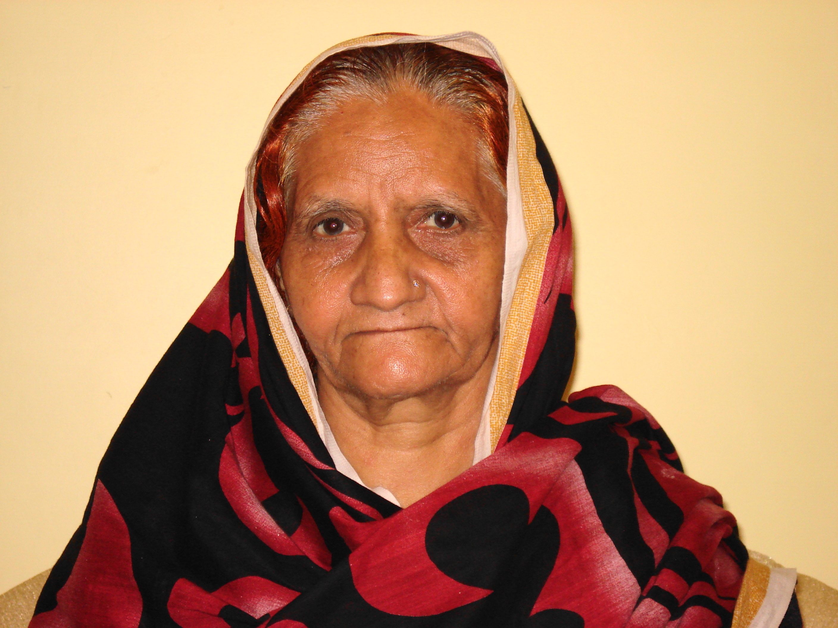 Pakistani Old Woman