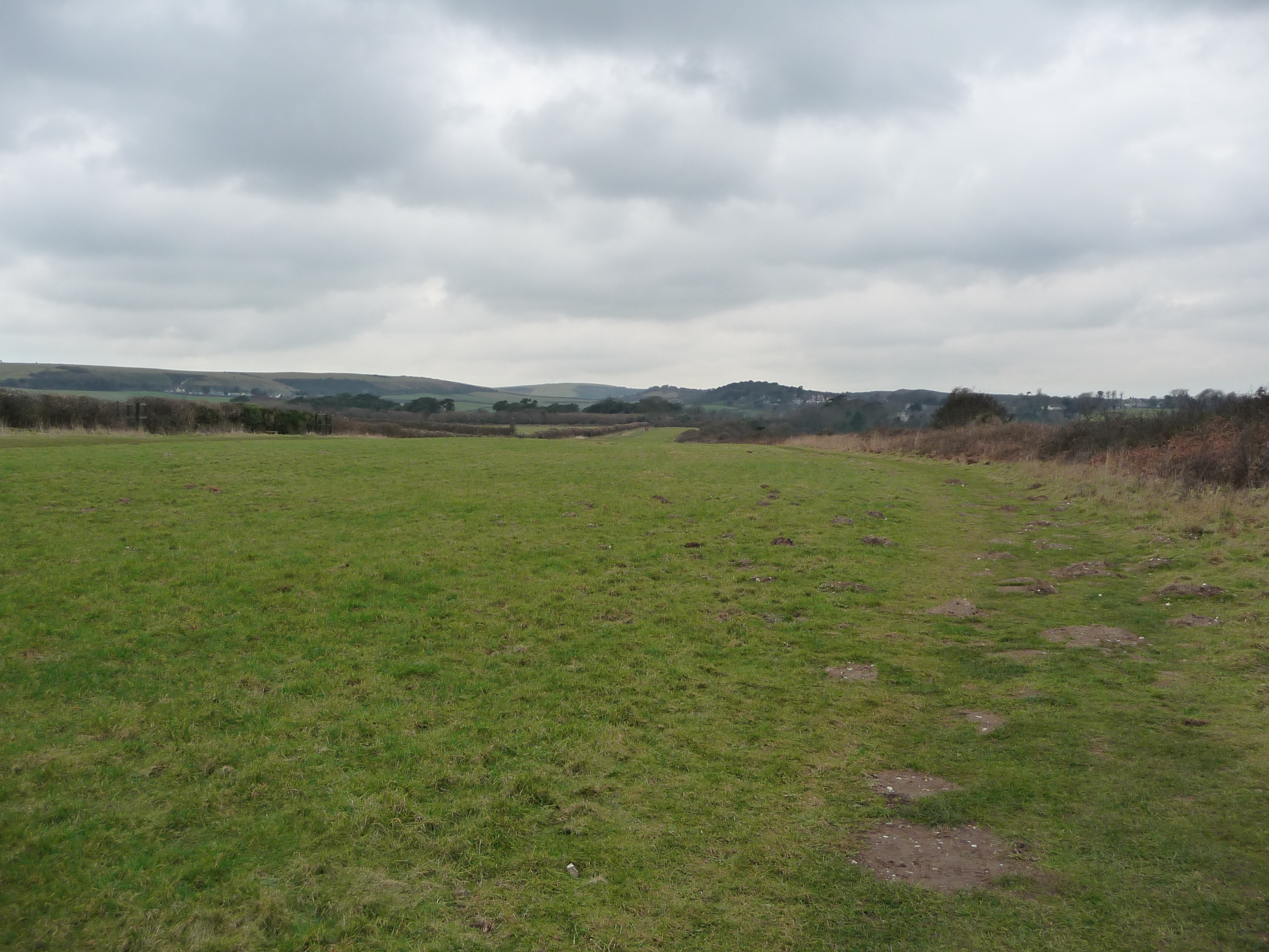 File:Purbeck , Grassy Field on the Headland - geograph.org ...