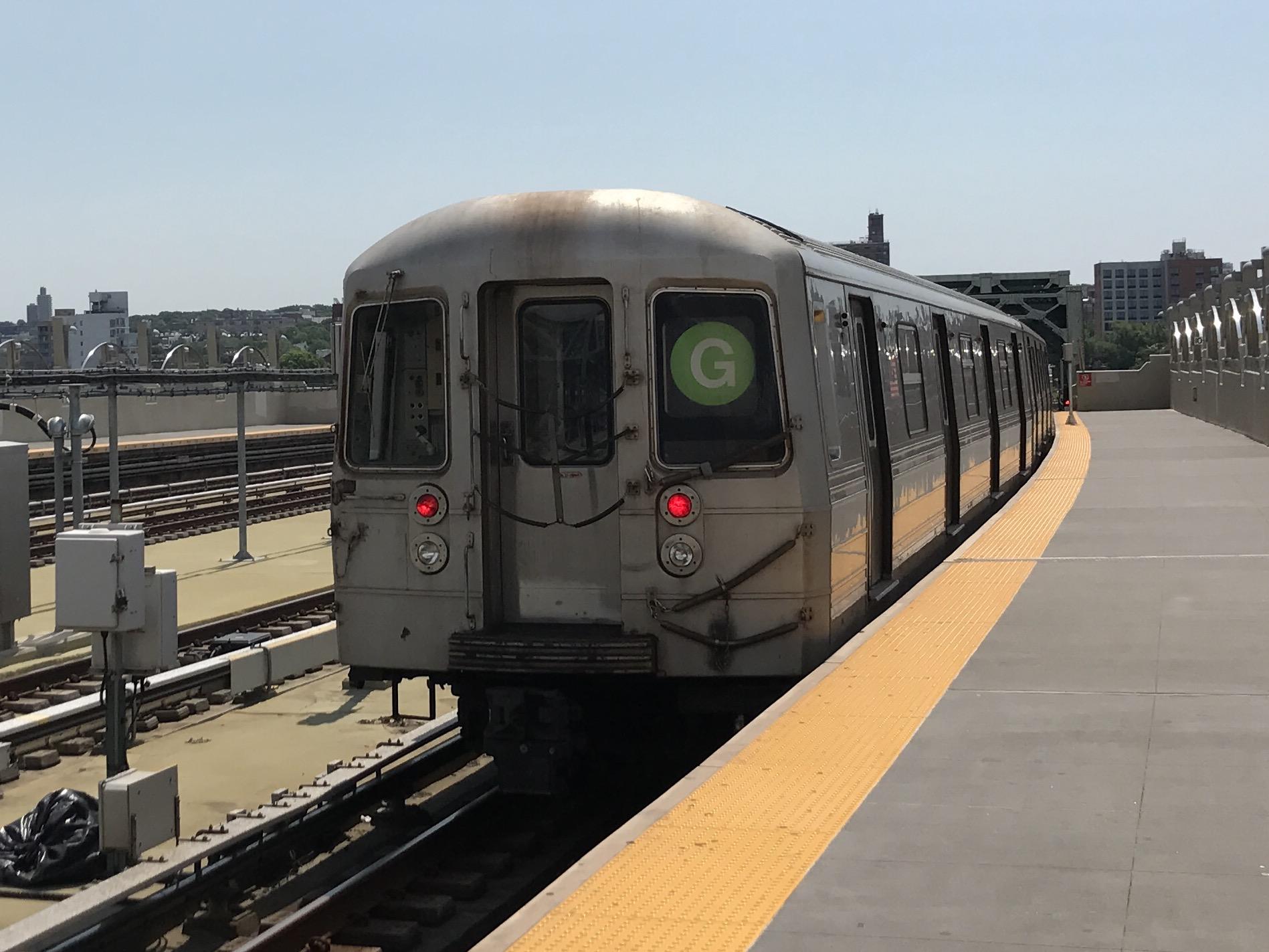 New York Subway Map G Line.G New York City Subway Service Wikipedia