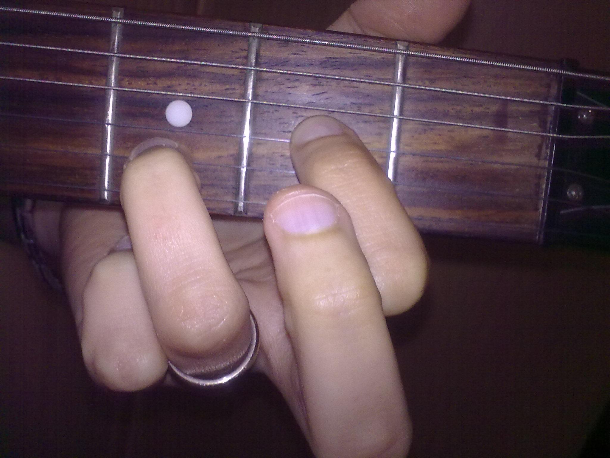 Filere Sus2 Accordo Chitarra Dsus2 Guitar Chord Fingeringg