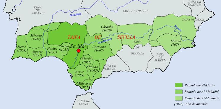 Archivo: Reino de Sevilla s.  XI.png