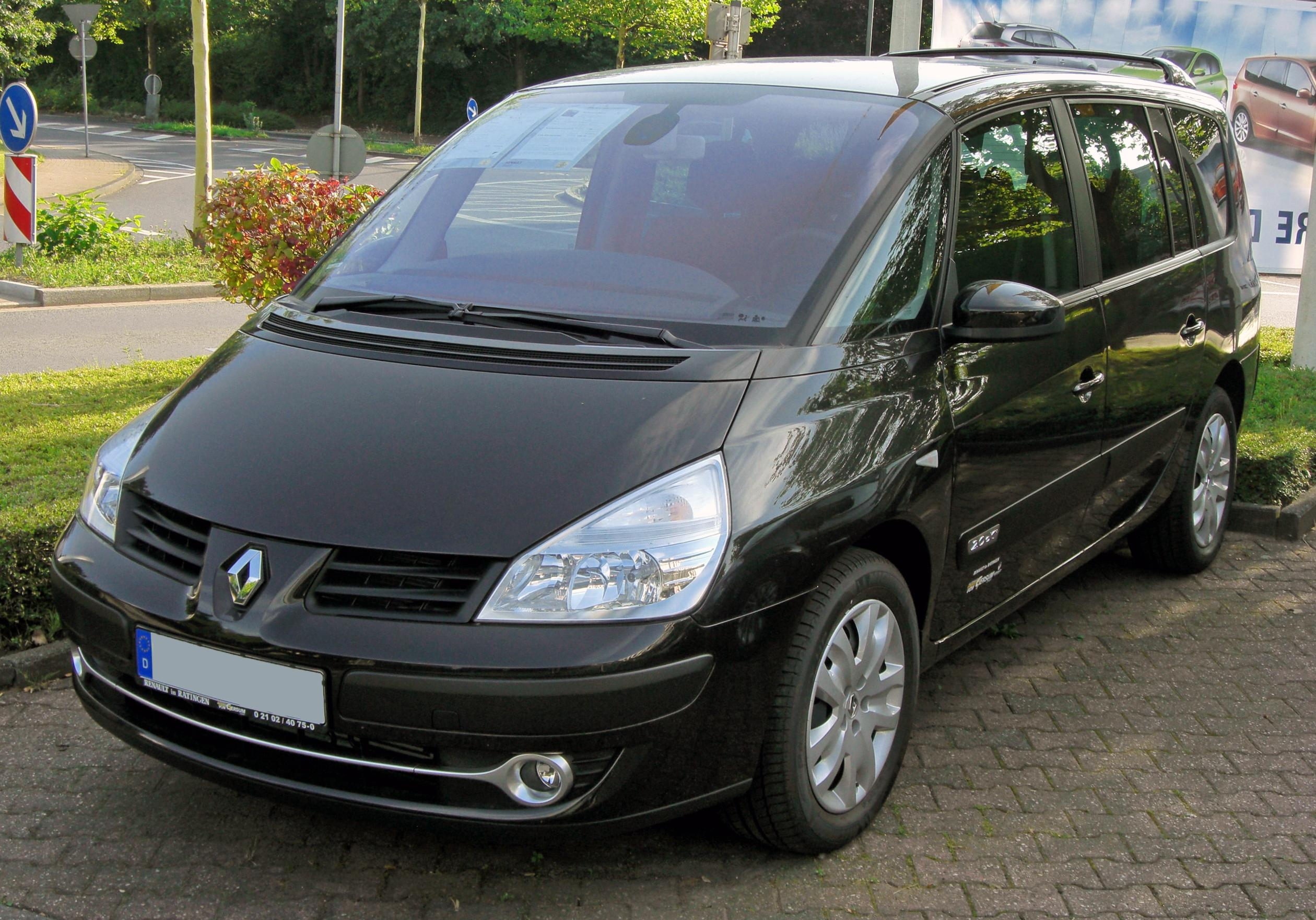 file renault espace iv facelift 20090801 front jpg. Black Bedroom Furniture Sets. Home Design Ideas