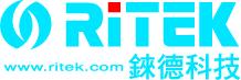 Ritek logo 含網址及中文