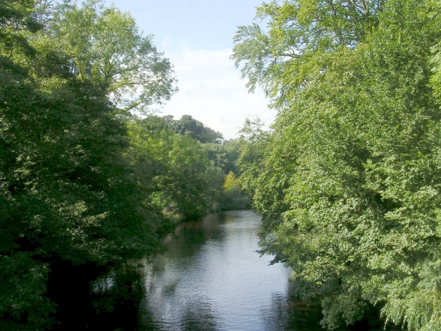 River Nidd - High Bridge - geograph.org.uk - 1468435