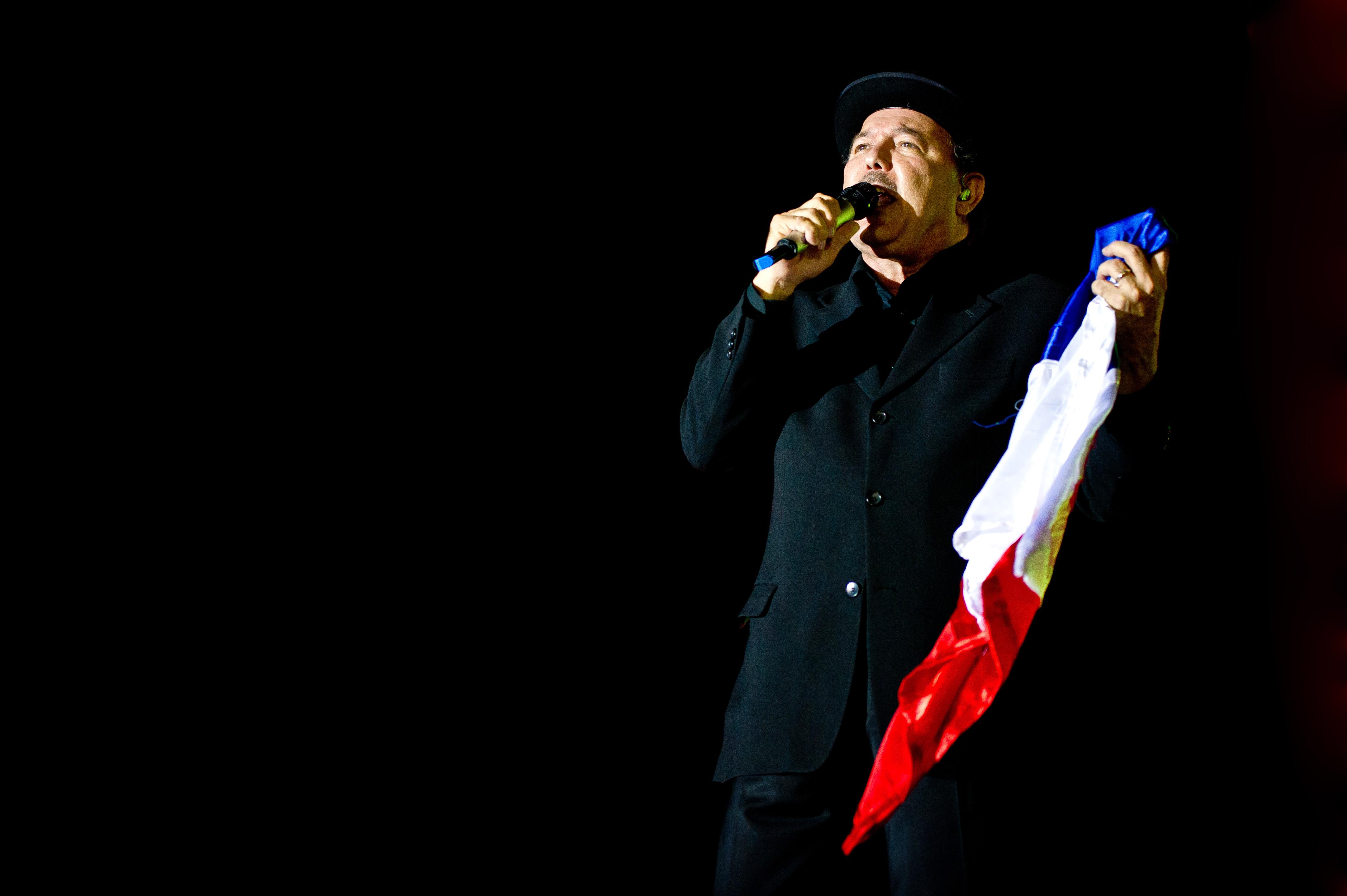 Rubén Blades en un concierto en 2012.