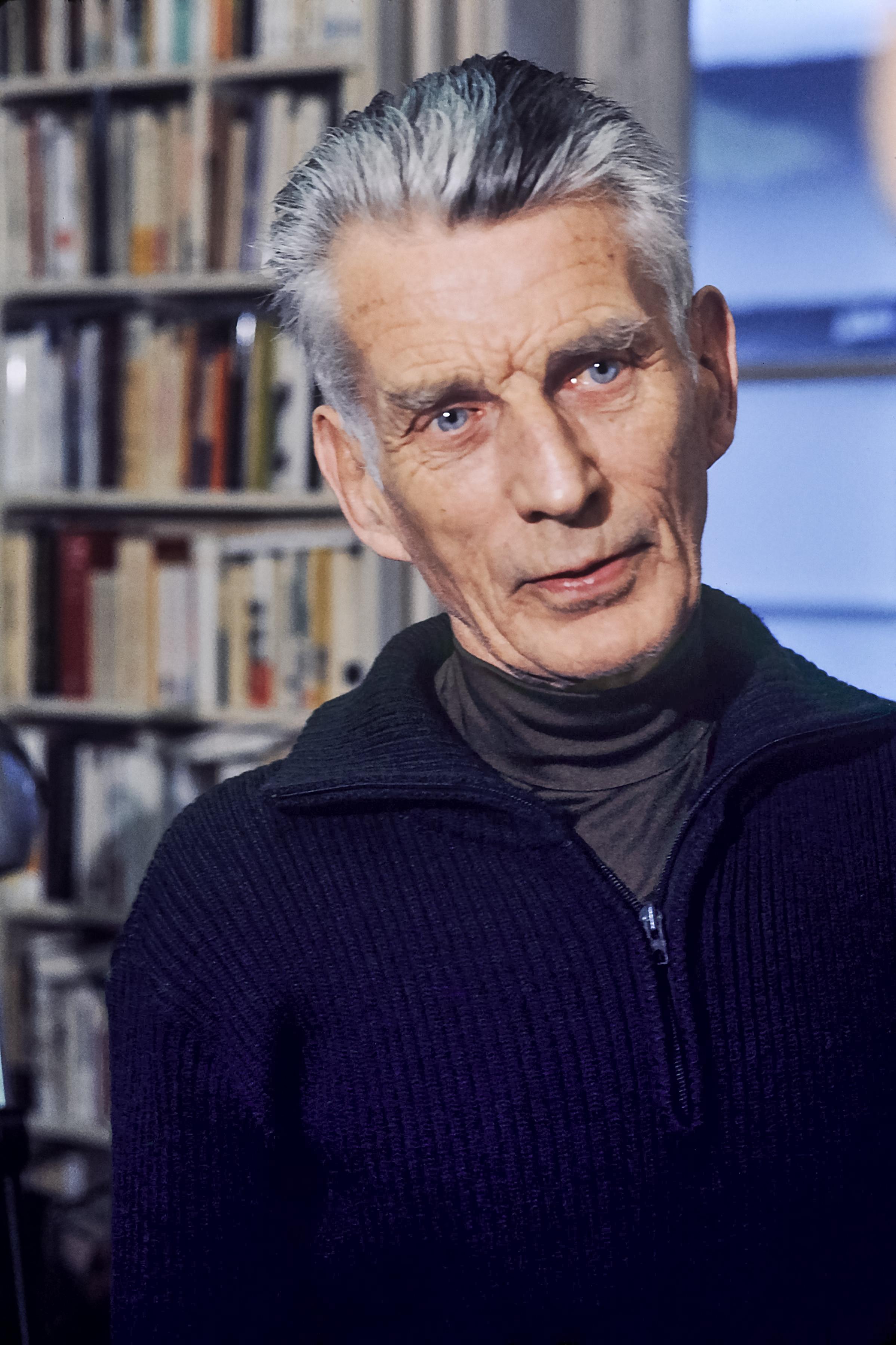 Photo Samuel Beckett via Opendata BNF