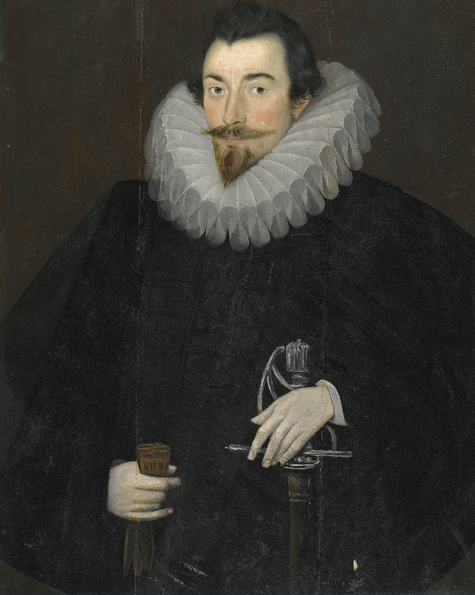 File:Sir John Harington, attributed to Hieronimo Custodis ...