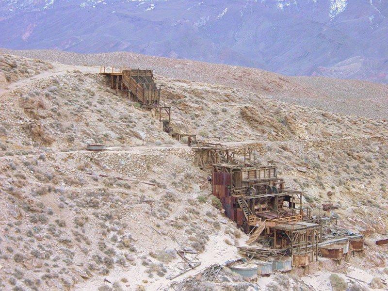 Ancienne mine d'ore en Californie