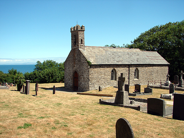 St Ina's Church, Llanina - geograph.org.uk - 872846