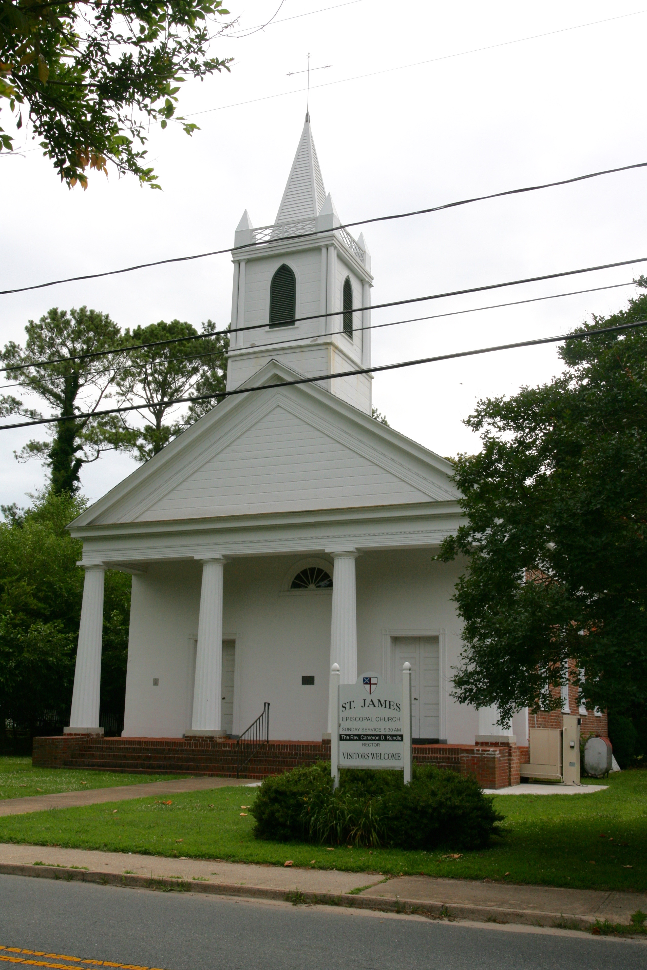St  James Church (Accomac, Virginia) - Wikipedia