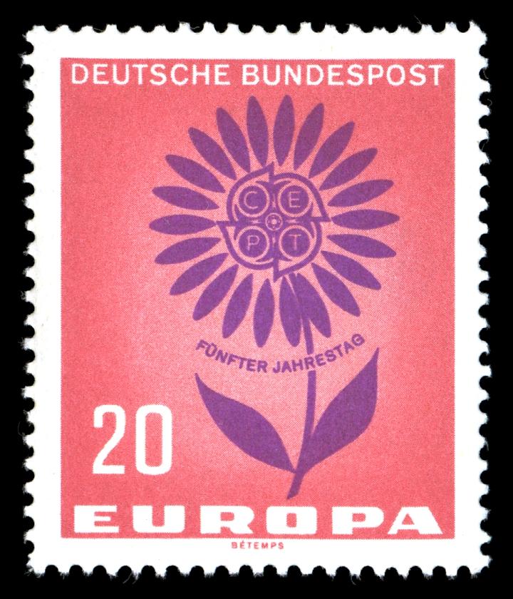 Briefmarken Jahrgang 1964 Der Deutschen Bundespost Wikiwand