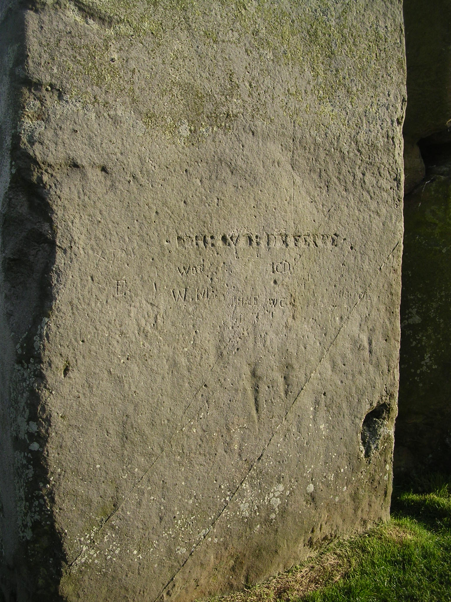 File stonehenge megalith with ancient carvings april