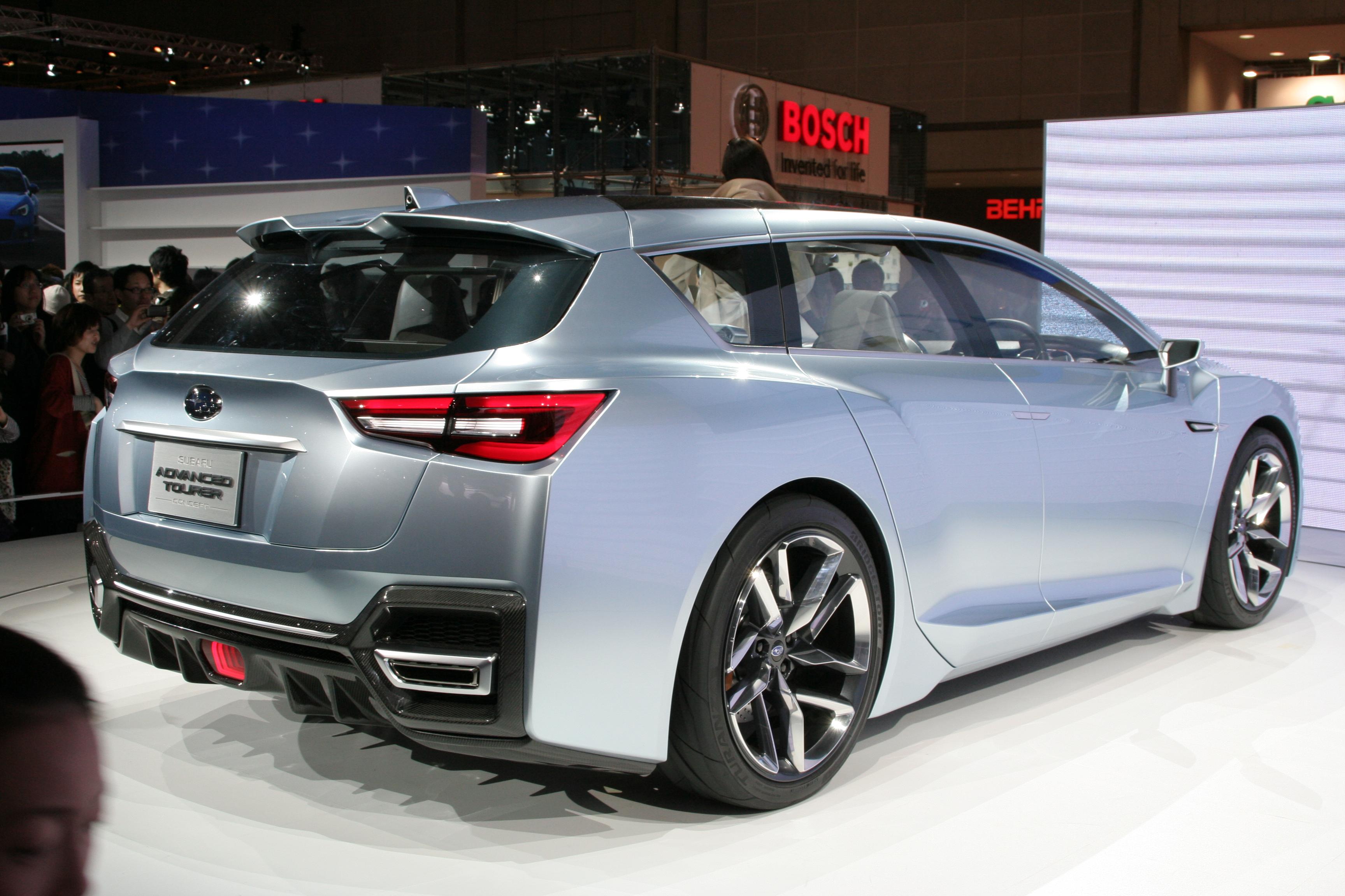 2019 Subaru Outback Redesign >> File:Subaru Advanced Tourer Concept rear.jpg - Wikimedia Commons