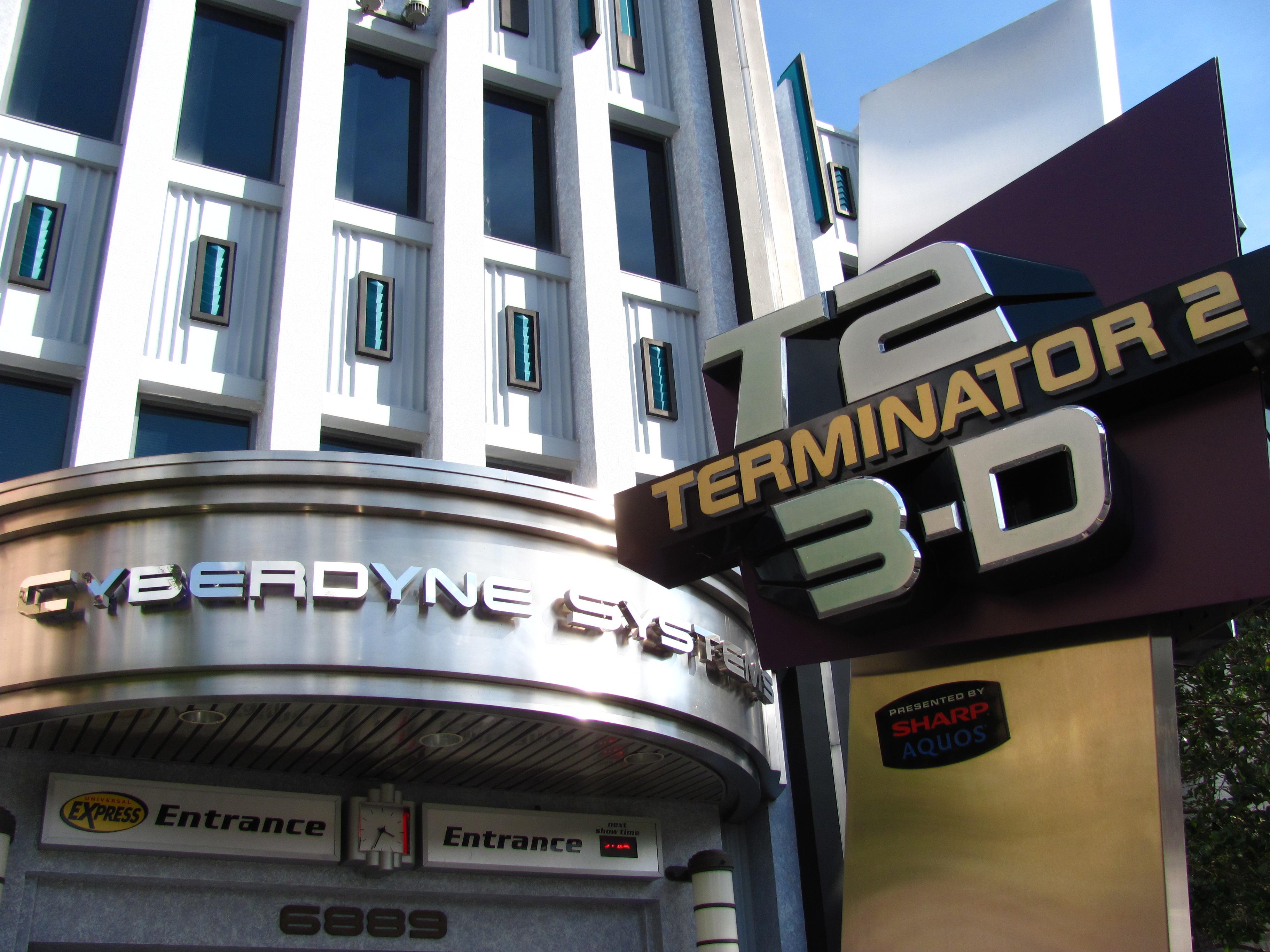 Terminator 2 (3d) battle across time hd youtube.