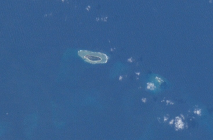 Taiping Island and Zhongzhou Reef ISS