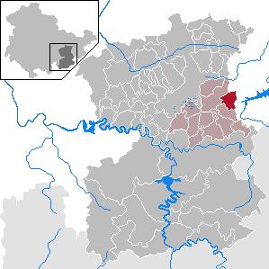 Tegau Place in Thuringia, Germany