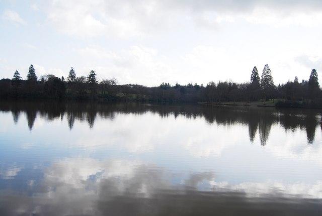 The Great Lake, Bedgebury Park - geograph.org.uk - 1766654